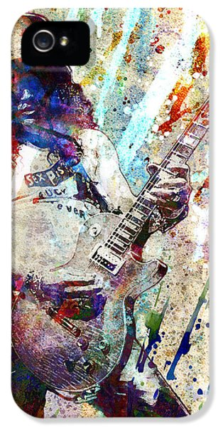 Slash Original  IPhone 5 / 5s Case by Ryan Rock Artist