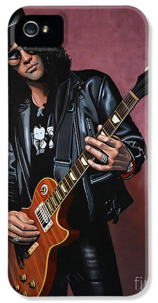 Slash IPhone 5 / 5s Case by Paul Meijering