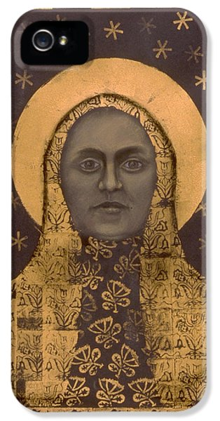 Fin De Siecle iPhone 5 Cases - Slavic Mother Goddess iPhone 5 Case by Diana Perfect