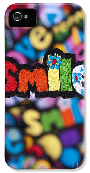 Spectrum iPhone 5 Cases - Smile iPhone 5 Case by Tim Gainey