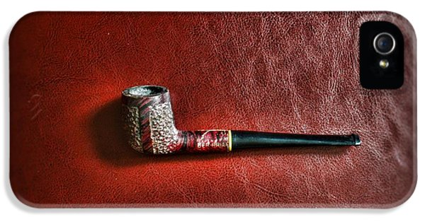 Nicotine iPhone 5 Cases - Smoker - pipe 4 - The Ber-Briar iPhone 5 Case by Paul Ward