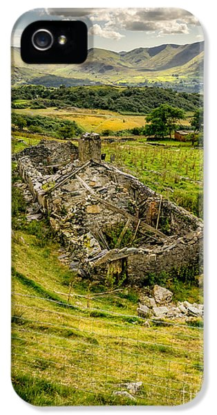 Decay iPhone 5 Cases - Snowdon Ruin iPhone 5 Case by Adrian Evans