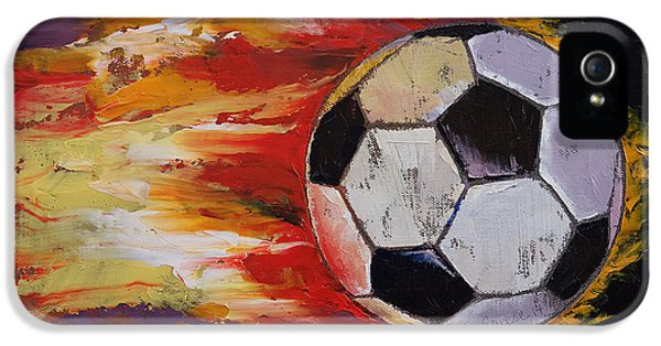 Soccer IPhone 5 / 5s Case by Michael Creese