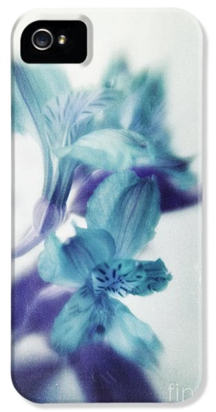 Lensbaby Macro iPhone 5 Cases - Soft Blues iPhone 5 Case by Priska Wettstein