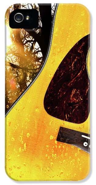Acoustic iPhone 5 Cases - Songs From The Wood iPhone 5 Case by Bob Orsillo