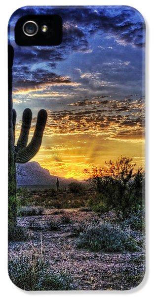 Sonoran Sunrise  IPhone 5 / 5s Case by Saija  Lehtonen