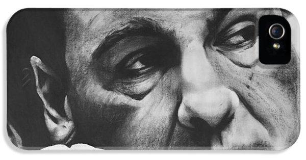Tony Soprano iPhone 5 Cases - Soprano iPhone 5 Case by Jimmy Chard