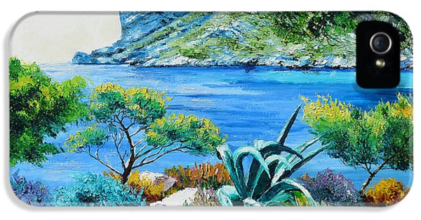 Jeans iPhone 5 Cases - Sormious Cove iPhone 5 Case by Jean Marc Janiaczyk