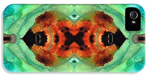 Eco iPhone 5 Cases - Soul Symphony - Abstract Art by Sharon Cummings iPhone 5 Case by Sharon Cummings