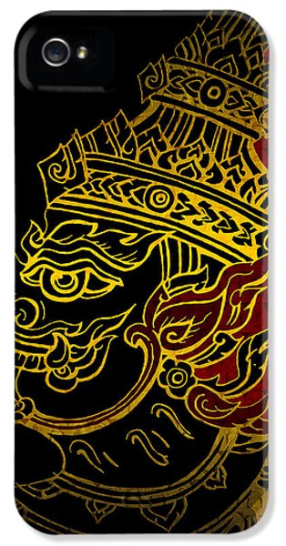 Artsy iPhone 5 Cases - South Asian Art Motives iPhone 5 Case by Corporate Art Task Force