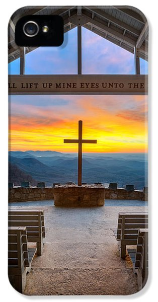 Epic iPhone 5 Cases - South Carolina Pretty Place Chapel Sunrise Embraced iPhone 5 Case by Dave Allen
