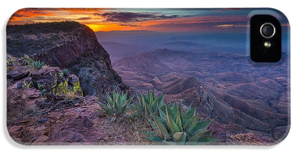 Epic iPhone 5 Cases - South Rim Sunrise iPhone 5 Case by Inge Johnsson