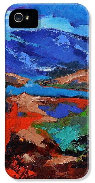 Modern Western iPhone 5 Cases - Southwest Arizona Trail iPhone 5 Case by Elise Palmigiani