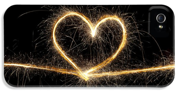 Spark Of Love IPhone 5 / 5s Case by Tim Gainey