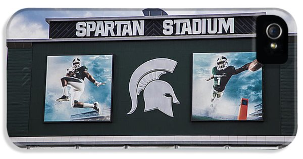 Spartan Stadium Scoreboard  IPhone 5 / 5s Case by John McGraw
