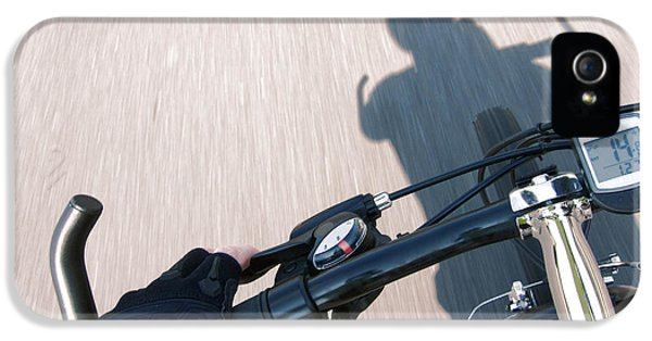 Point Of View iPhone 5 Cases - Speed iPhone 5 Case by Olivier Le Queinec