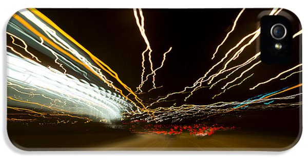 Road iPhone 5 Cases - Speed iPhone 5 Case by Sebastian Musial