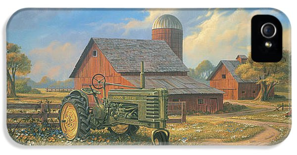 Tractor iPhone 5 Cases - Spirit of America iPhone 5 Case by Michael Humphries
