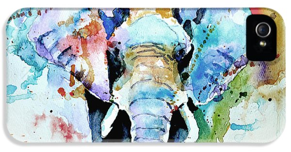 Abstract Canvas iPhone 5 Cases - Splash of colour iPhone 5 Case by Steven Ponsford