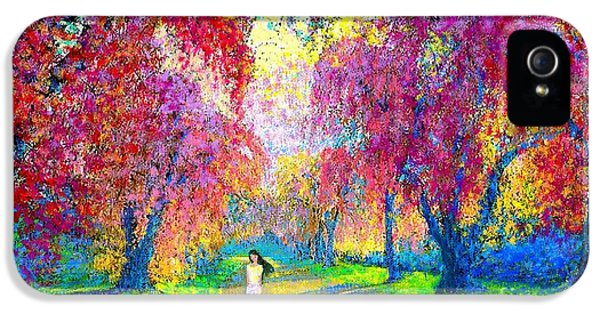 Colourful iPhone 5 Cases - Spring Rhapsody iPhone 5 Case by Jane Small