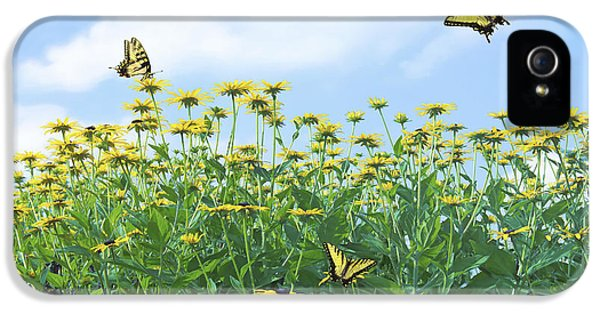 Swallowtail iPhone 5 Cases - Springtime iPhone 5 Case by Diane Diederich