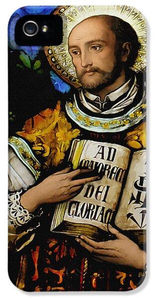 St. Ignacius Of Loyola IPhone 5 / 5s Case by Bibi Romer