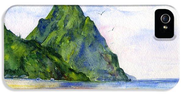 St. Lucia IPhone 5 / 5s Case by John D Benson