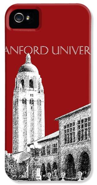 Stanford University - Dark Red IPhone 5 / 5s Case by DB Artist