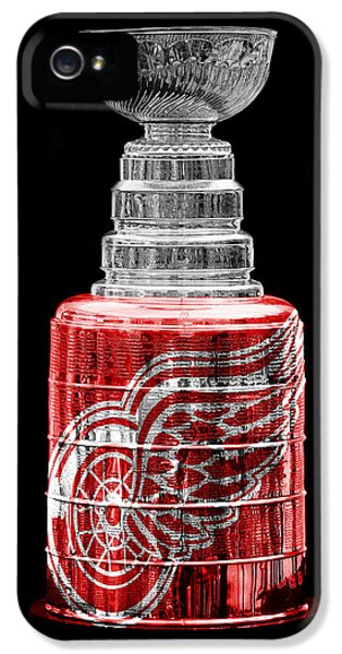 Stanley Cup 5 IPhone 5 / 5s Case by Andrew Fare