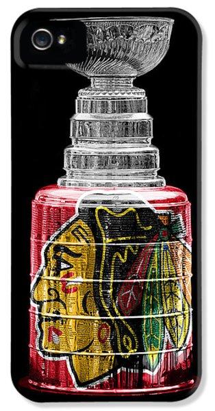 Sears Tower iPhone 5 Cases - Stanley Cup 6 iPhone 5 Case by Andrew Fare