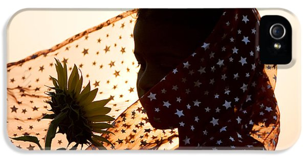 Clothing iPhone 5 Cases - Star Girl  iPhone 5 Case by Tim Gainey