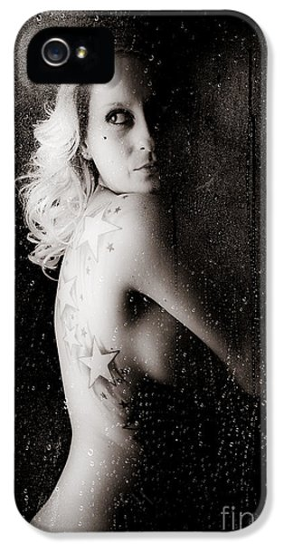 Abdomen iPhone 5 Cases - Star Shower iPhone 5 Case by Jt PhotoDesign