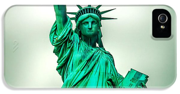 Fourth iPhone 5 Cases - Statue Of Liberty iPhone 5 Case by Az Jackson