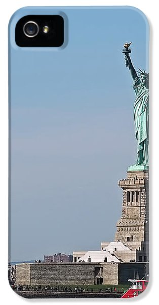 Statue Of Liberty IPhone 5 / 5s Case by Rona Black