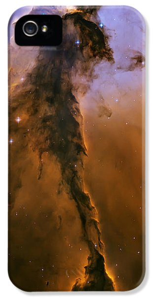 Solar System iPhone 5 Cases - Stellar spire in the Eagle Nebula iPhone 5 Case by Adam Romanowicz