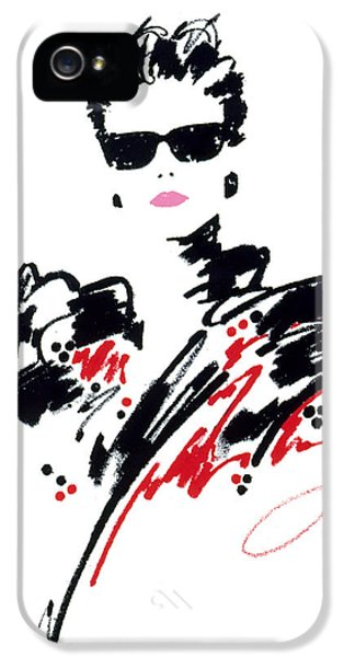 Glamorous iPhone 5 Cases - Stephanie iPhone 5 Case by Giannelli