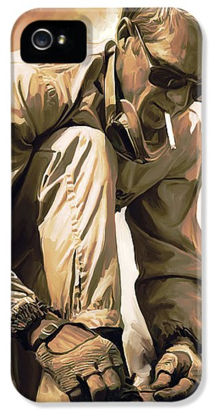 Steve Mcqueen Artwork IPhone 5 / 5s Case by Sheraz A
