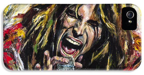 Steven Tyler IPhone 5 / 5s Case by Mark Courage