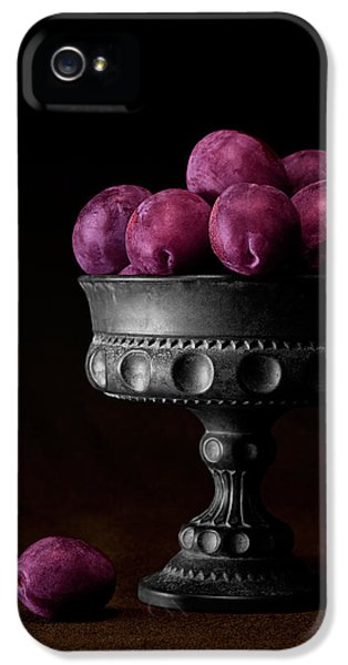 Still Life With Plums IPhone 5 / 5s Case by Tom Mc Nemar
