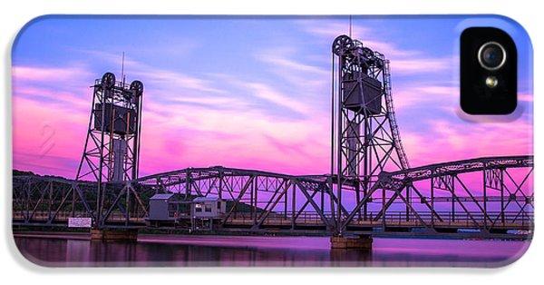 River iPhone 5 Cases - Stillwater Lift Bridge iPhone 5 Case by Adam Mateo Fierro