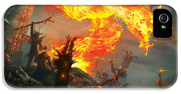 Stoke The Flames IPhone 5 / 5s Case by Ryan Barger