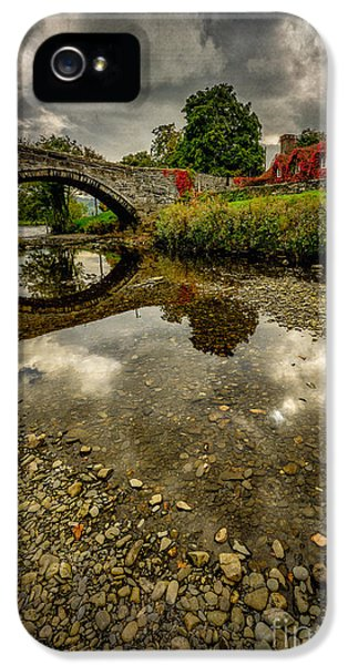 Stone iPhone 5 Cases - Stone Bridge iPhone 5 Case by Adrian Evans