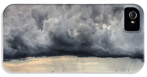 Storm Clouds iPhone 5 Cases - Storm Clouds over Charleston South Carolina iPhone 5 Case by Dustin K Ryan
