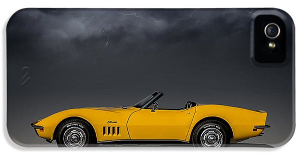 Roadsters iPhone 5 Cases - Stormy Weather iPhone 5 Case by Douglas Pittman