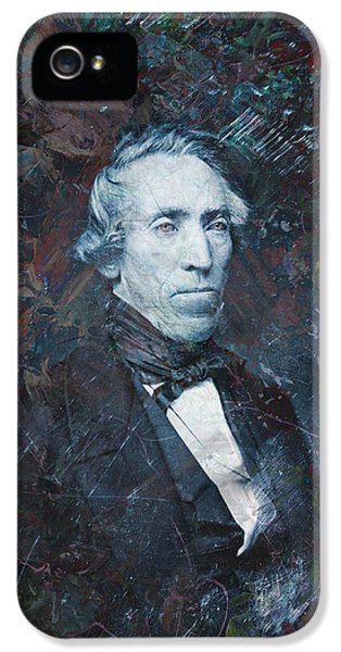 Spooky iPhone 5 Cases - Strange Fellow 1 iPhone 5 Case by James W Johnson