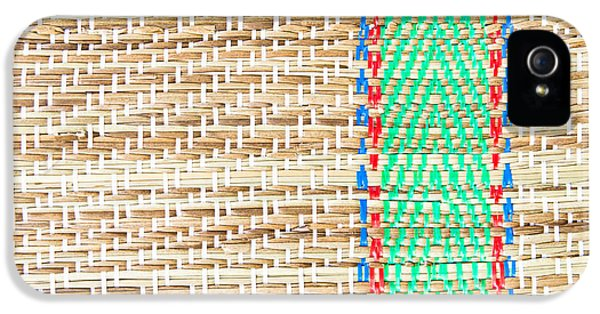 Fibre iPhone 5 Cases - Straw mat iPhone 5 Case by Tom Gowanlock