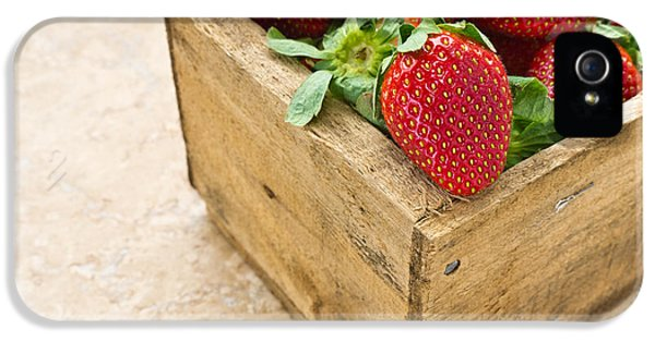 Strawberries IPhone 5 / 5s Case by Edward Fielding