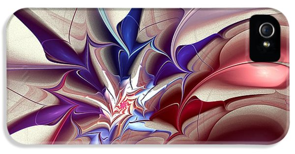 Subspace Fracture IPhone 5 / 5s Case by Anastasiya Malakhova