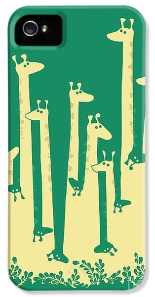 Cartooning iPhone 5 Cases - Such a great height iPhone 5 Case by Budi Satria Kwan