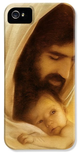Death iPhone 5 Cases - Suffer the Little Children iPhone 5 Case by Ray Downing